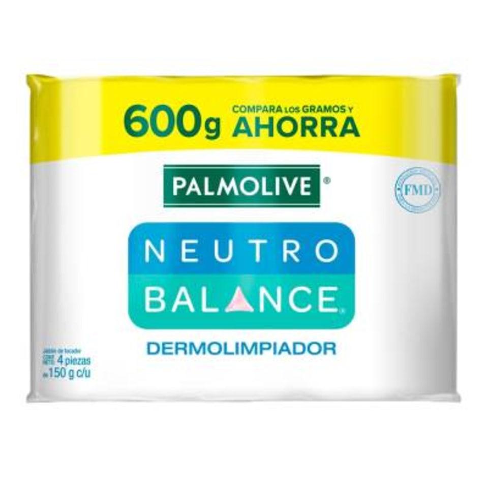 Walmart: Jabón de tocador Palmolive Neutro Balance dermolimpiador 4 pzas de 150 g c/u