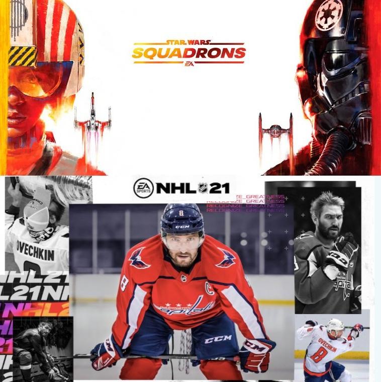 Star Wars Squadrons en Game Pass a Través de EA Play (18 marzo) NHL 21 (abril)