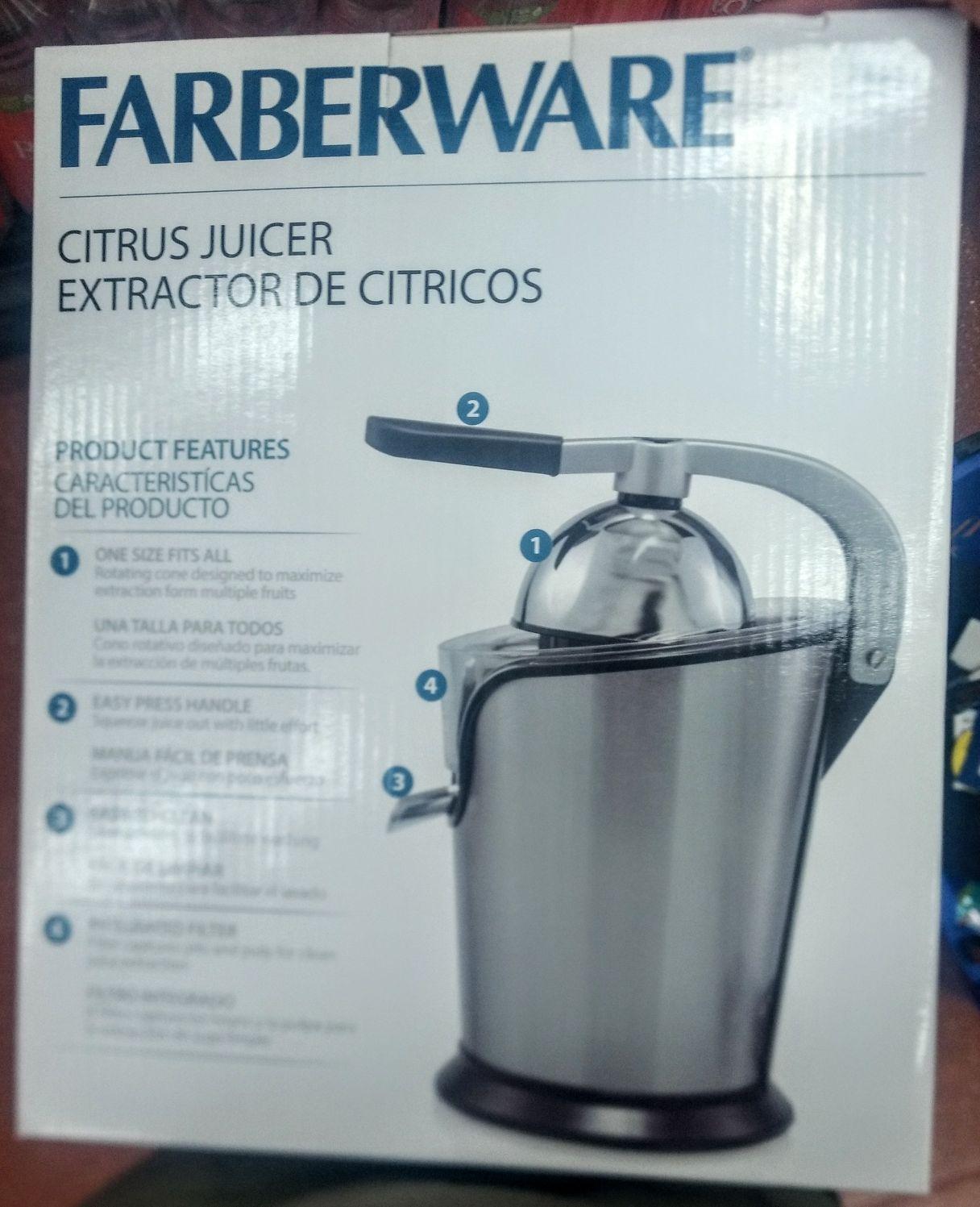 Walmart Extractor de cítricos Farberware