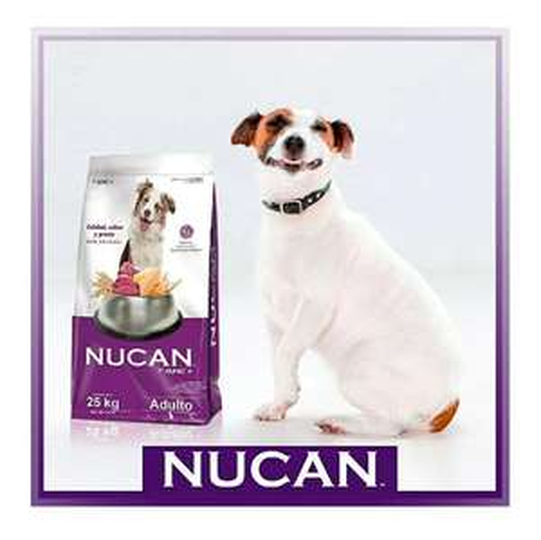 Amazon: Alimento para perro adulto Nucan de Nupec 25 kilos