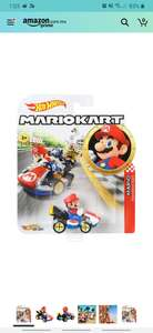 Amazon: Hot Wheels Mario Kart. Yoshi y Luigui al mismo precio