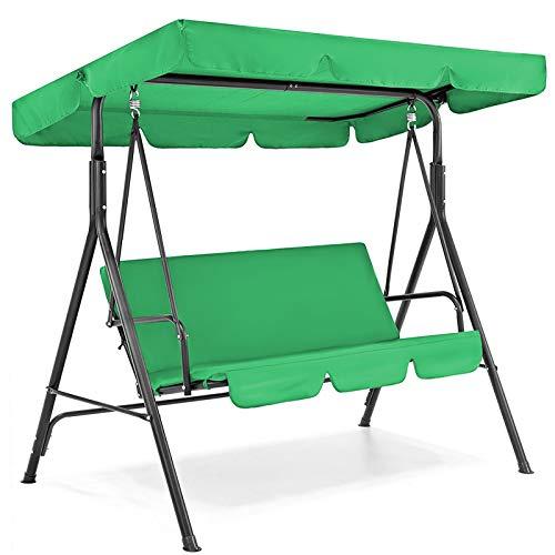 Amazon: Juego de funda para columpio de patio, cubierta impermeable para asiento de columpio + funda de asiento para columpio de jardín