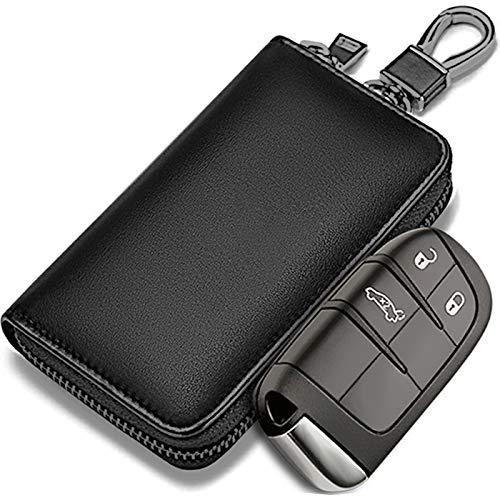Amazon: Faraday - Bolsa de piel para llaves de coche, llavero de bloqueo de señal para coche, bolsa de llaves RFID Faraday para coche