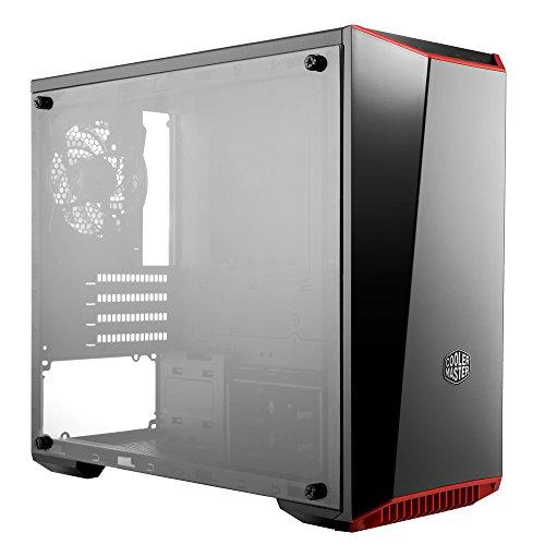 Amazon: Cooler Master Gabinete para PC, Mini Torre con Panel Frontal de Espejo Oscuro, Panel Lateral de Acrílico