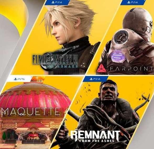 PlayStation Plus: Juegos de Marzo