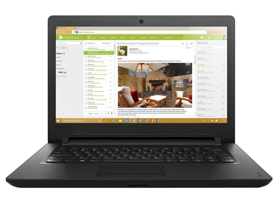 Liverpool en línea: Laptop Lenovo 100-14IBY 4gb Ram
