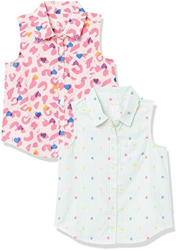 Amazon: Camisetas Spotted Zebra talla CH (6/7) para niñas