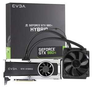 Amazon: tarjeta de video EVGA GeForce GTX 980ti Hybrid, 6 GB GDDR5