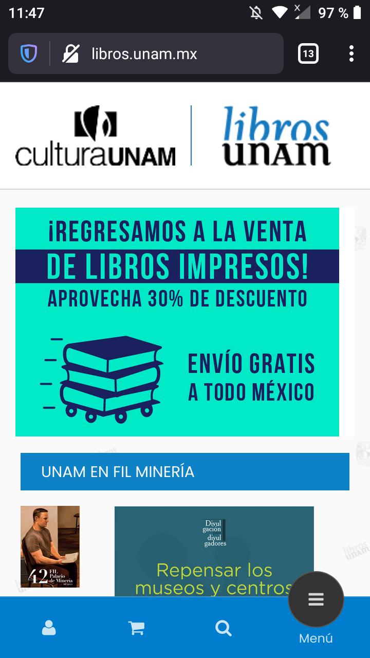 Libros UNAM -30% más envío gratis todo México