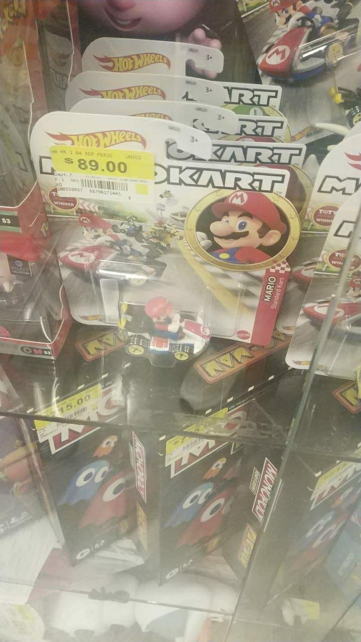 Bodega Aurrera: Mario kart hot wheels