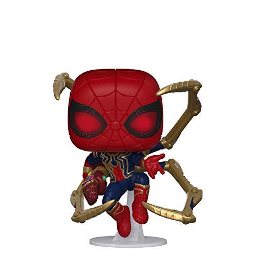 Amazon: Funko - Avengers Endgame - Iron Spider with Nano Gauntlet Figurina de Colección, Multicolor, 45138