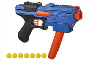 Amazon Nerf Rival Finisher XX-700 Blaster - Revista de Carga rápida, acción de Resorte, Incluye 7 Rondas Oficiales Rival - Team Blue