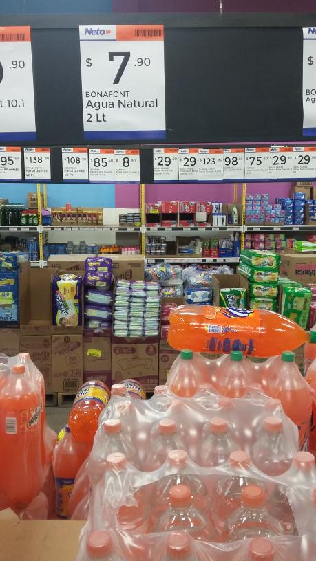 Neto Tultepec Centro: Agua Bonafont 2lt a $7.90