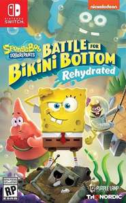 Amazon: Bob Esponja juego físico Nintendo Switch