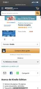 Amazon Kindle: Recopilación de libros de poesía gratuitos