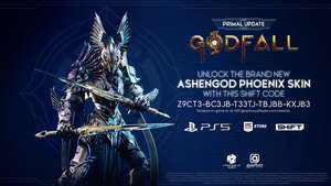Godfall [PC/PS5]: Ashengod Phoenix Skin (código para canjear en SHiFT)