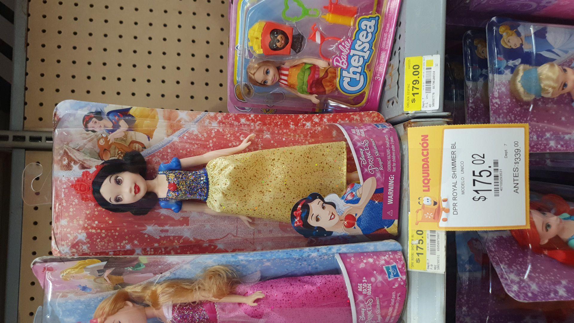 Walmart: Princesa Blanca Nieves Disney