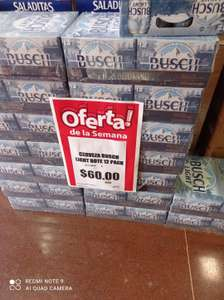 12 pack de cerveza busch light en merco