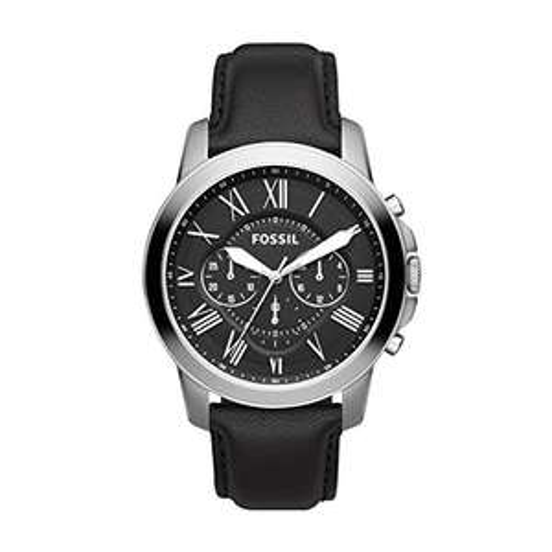 Amazon: Fossil FS4812 Reloj Grant, Análogo, Redondo para Hombre