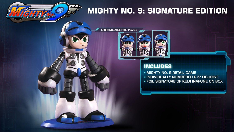 Amazon: Mighty No. 9 Signature Edition (PS4)