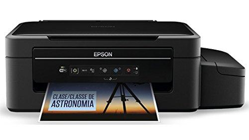 Amazon: Epson EcoTank L375 Impresora multifunción con Inyección de Tinta A4 Wi-Fi, color Negro