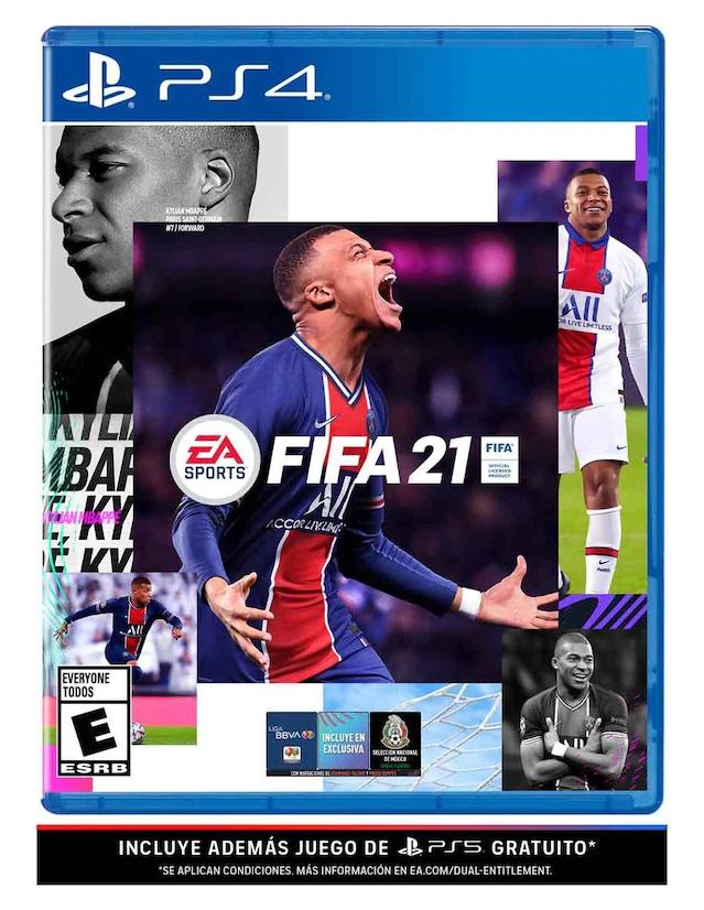 Liverpool: Juego físico FIFA 21 PS4