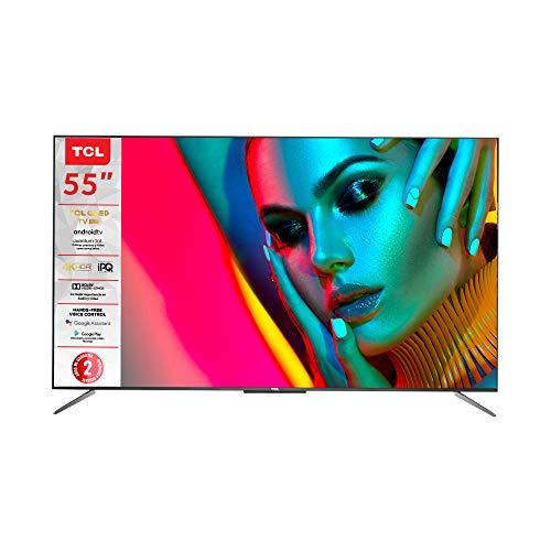 "Amazon: TCL Pantalla 55"" UHD 4k Dolby Atmos QLED Android Smart TV - 55Q637"
