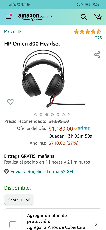 Amazon: HP OMEN 800 HEADSET