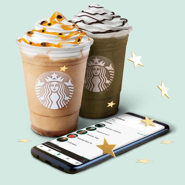 Starbucks: Ordena tu Frappuccino favorito desde la app y obtén 50 estrellas extras