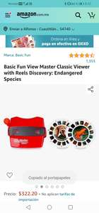 Amazon :Basic Fun View Master Classic Viewer with Reels Discovery: Endangered Species