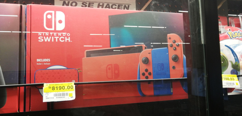 Walmart: Nintendo Switch Red Edition Mario