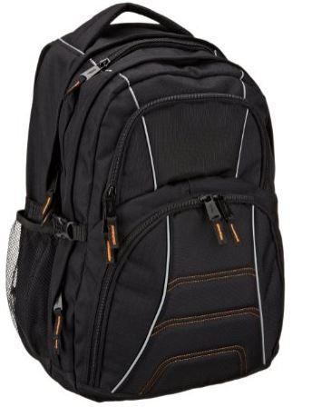 Amazon: mochila para laptop Amazon Basics AB 103