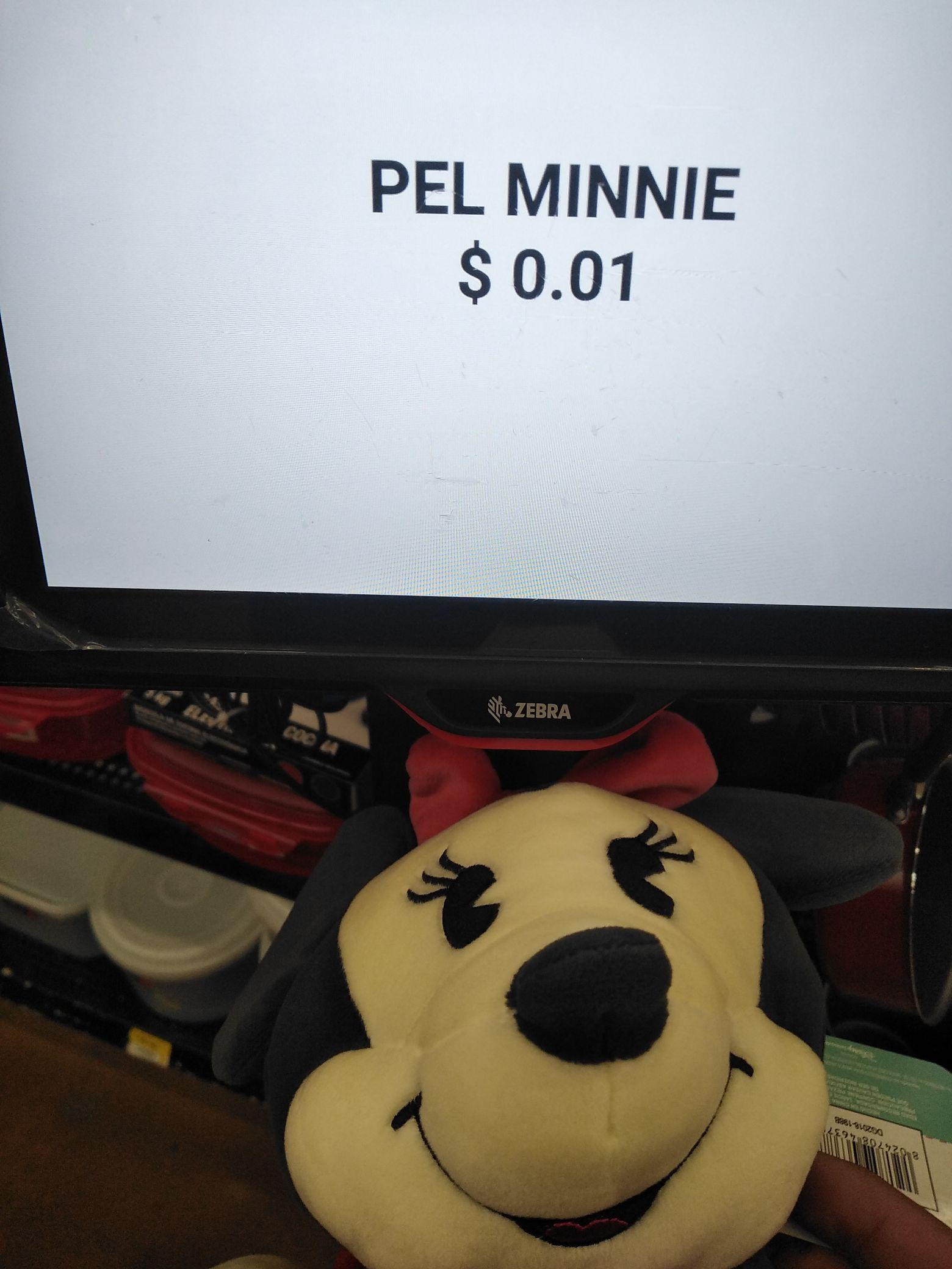 Peluche minnie mouse, Walmart, Monterrey.