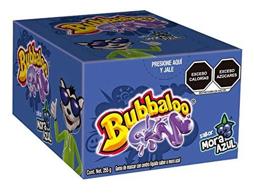 Amazon: Chicles Bubbaloo (varios sabores)