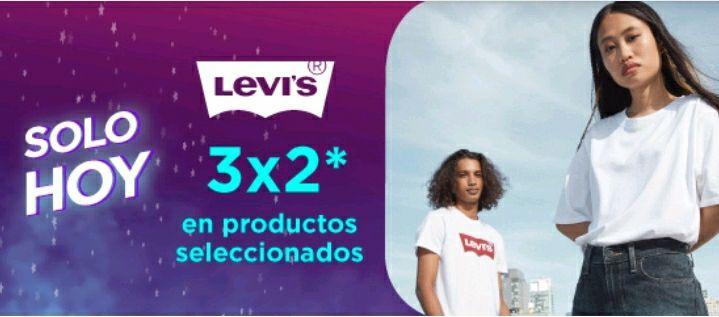 Linio: 3X2 en Levi's