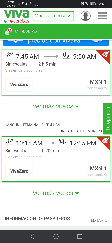 VivaAerobus: Vuelo redondo Toluca-Cancún incluye TUA (Sept, Oct, Nov y Dic 2021)