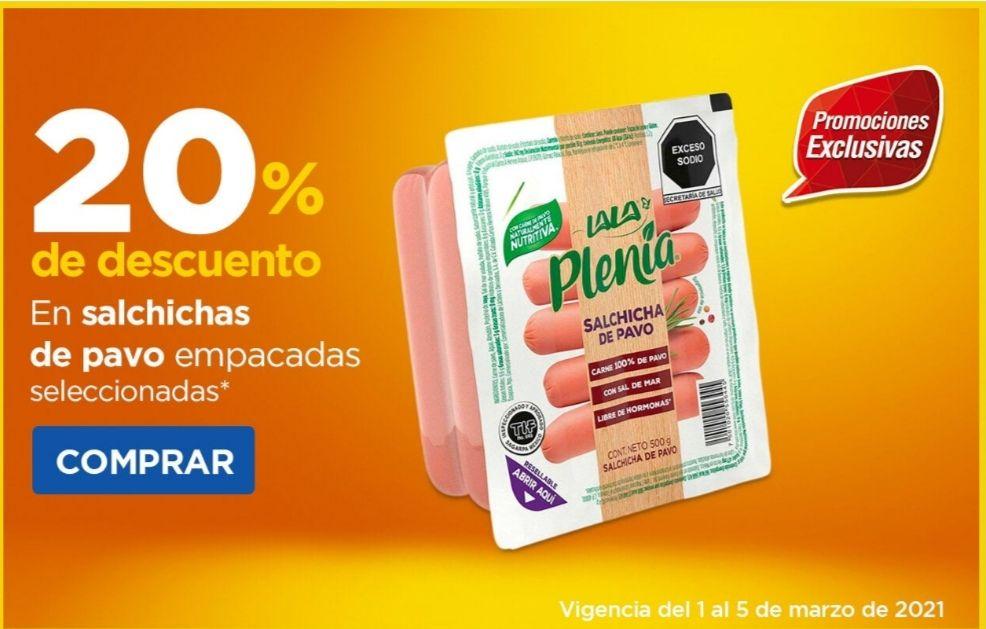 Chedraui: 20% de descuento en salchichas de pavo empacadas