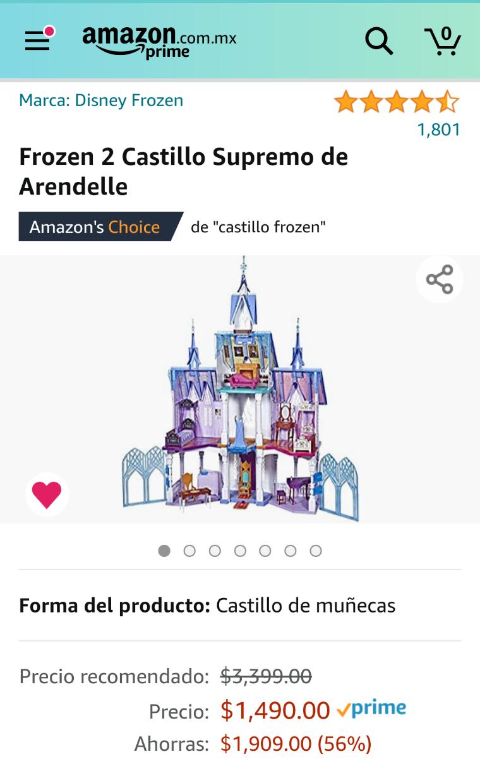 Amazon: Frozen 2 Castillo Supremo de Arendelle