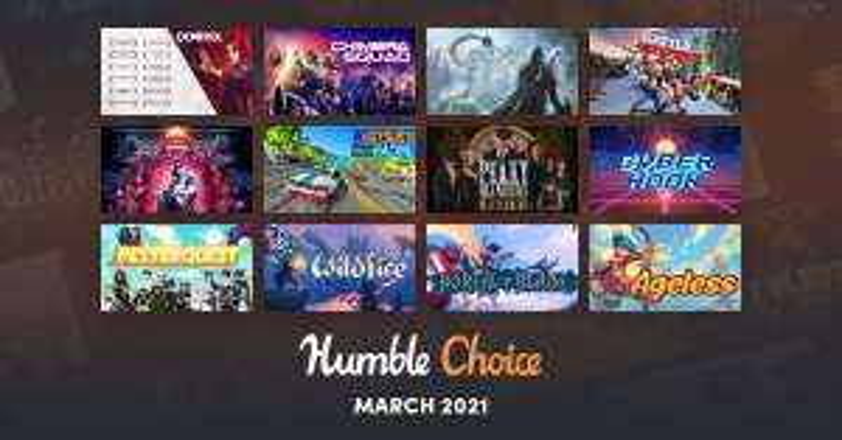 Humble Bundle: Humble Monthly Marzo