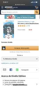 Amazon Kindle: Compendio de libros gratis