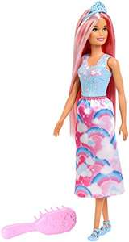 Amazon: Barbie Dreamtopia, Princesa Peinados Mágicos
