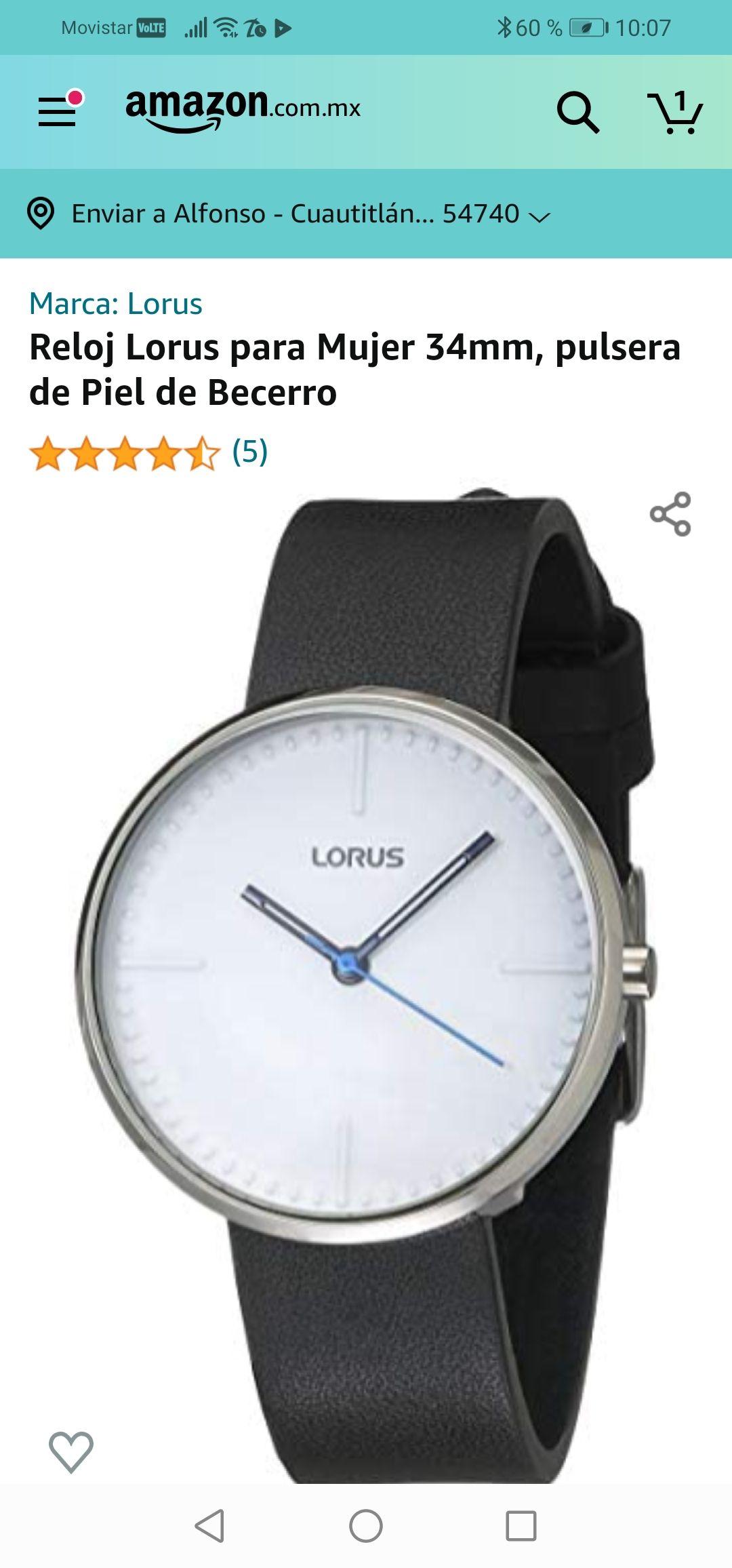 Amazon: Reloj Lorus