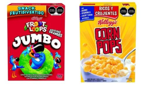 Walmart: Froot Loops jumbo 340 g (2 x $95) ó Corn Pops 490 g (2 x $95) ó Cereal Kellogg's Choco Krispis 650 g (2 x $95)
