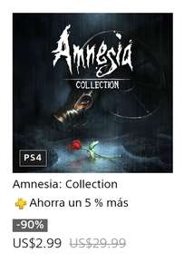 PS4 - Pstore - 2x1Amnesia Collection