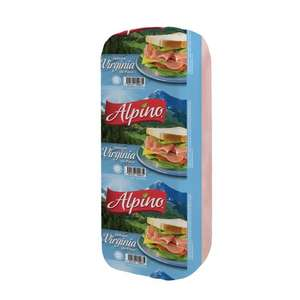 Super Che Nanchital:  Jamon Alpino Virginia Kg a $9