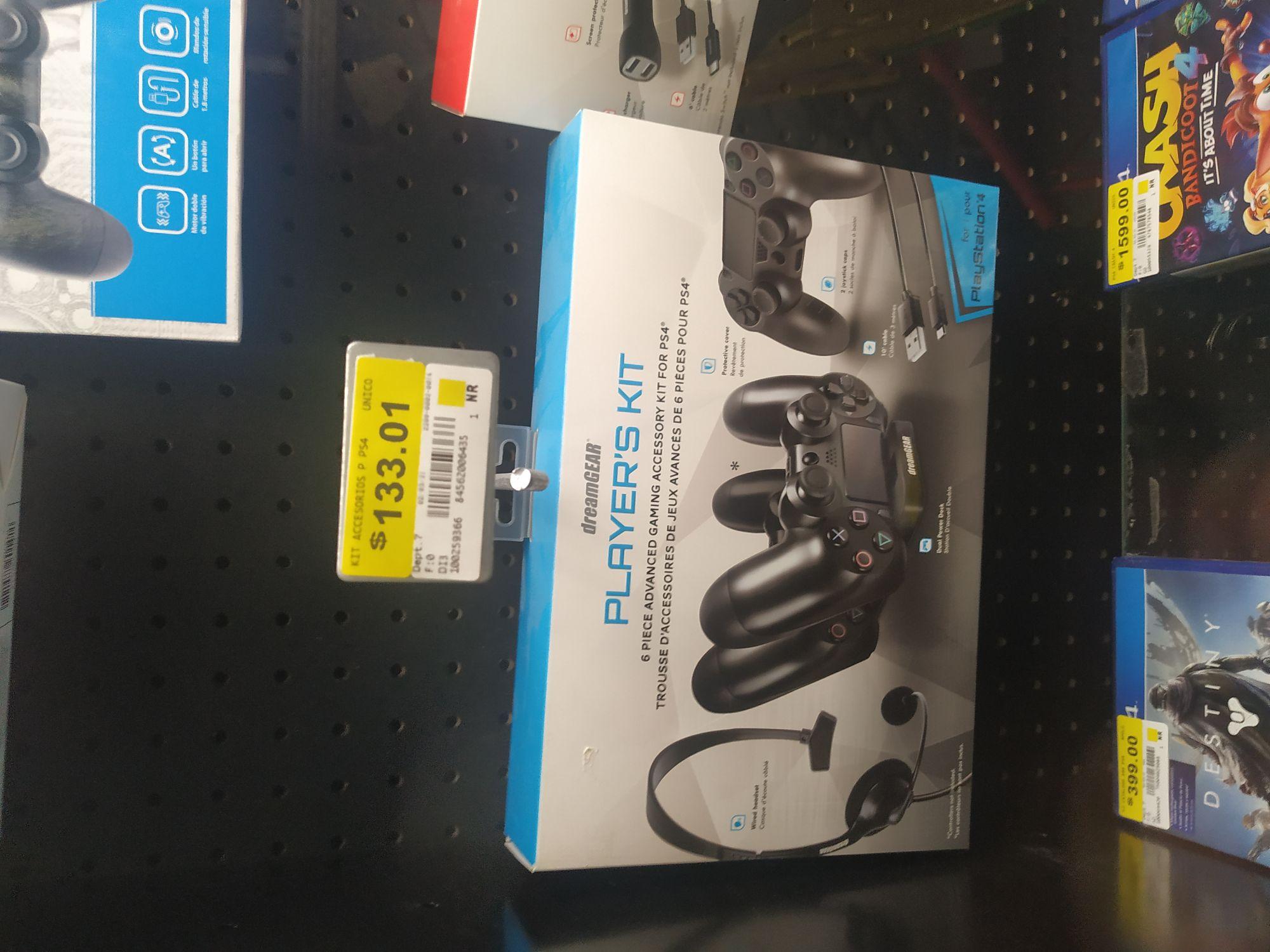 Bodega Aurrerá, Accesorios para PS4 y Nintendo Switch