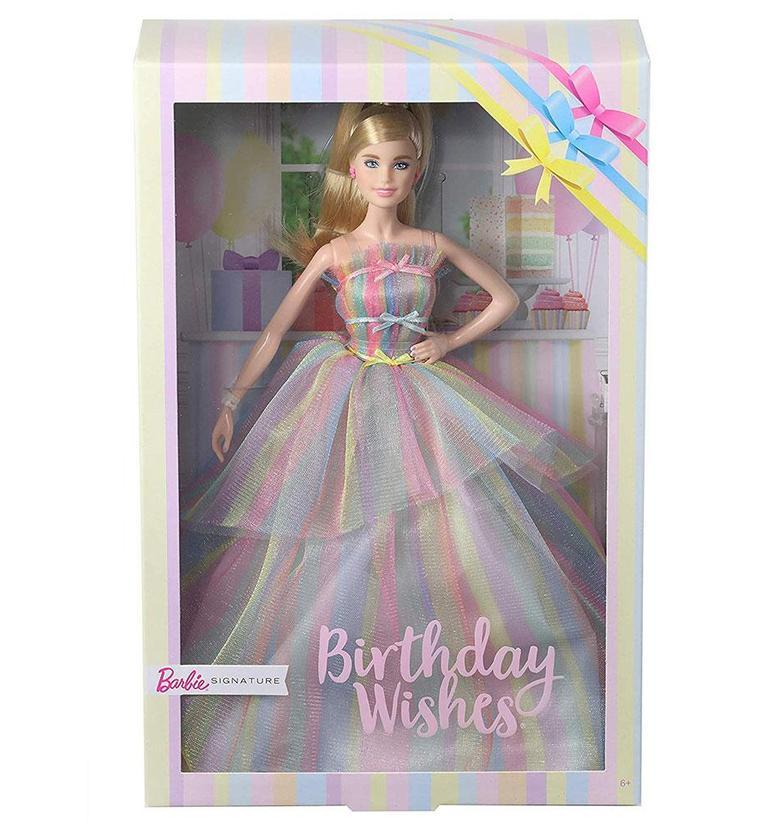 juguetibici Barbie Birthday Wishes Signature