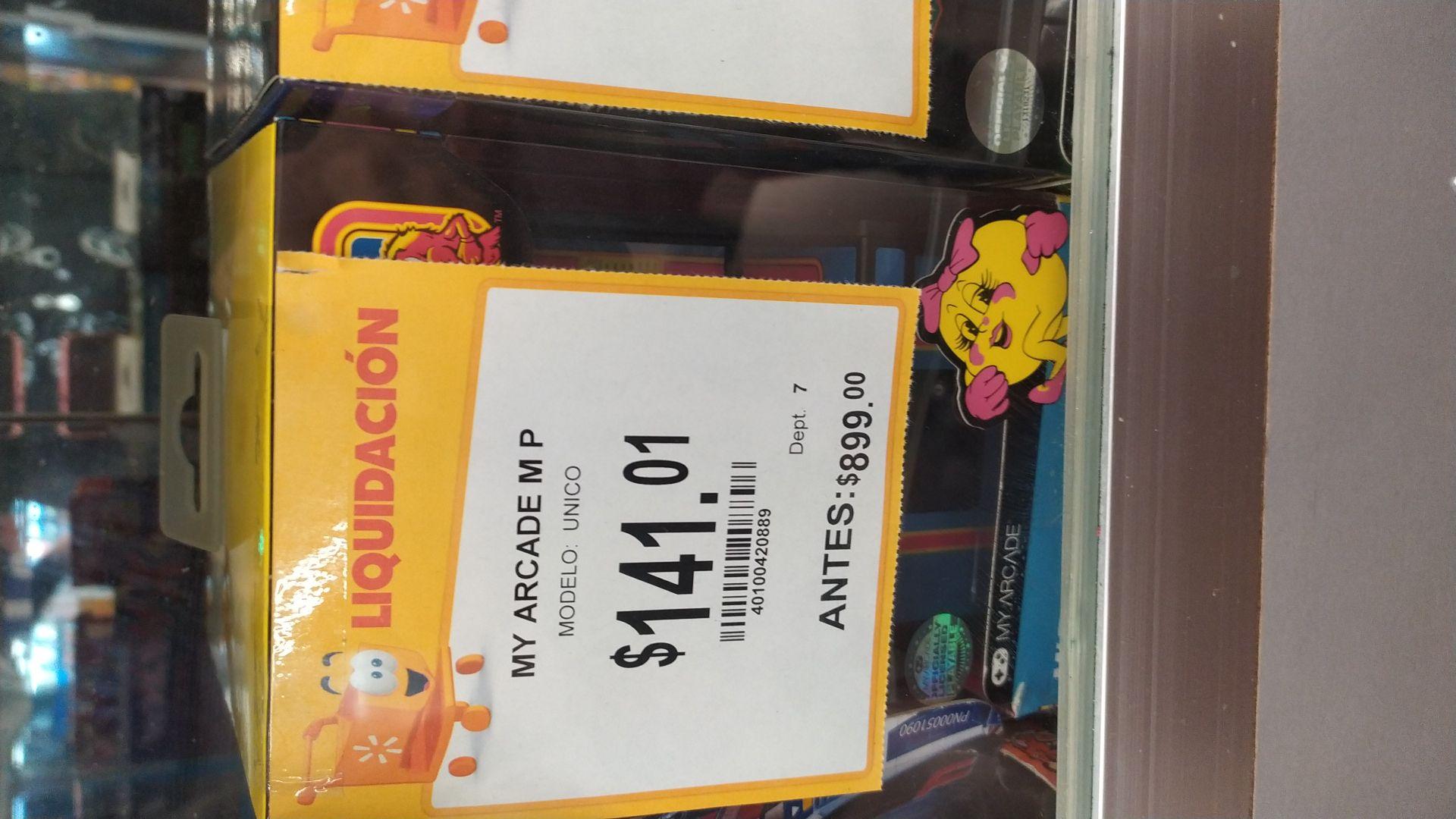 Walmart: Mini arcade ms Pacman