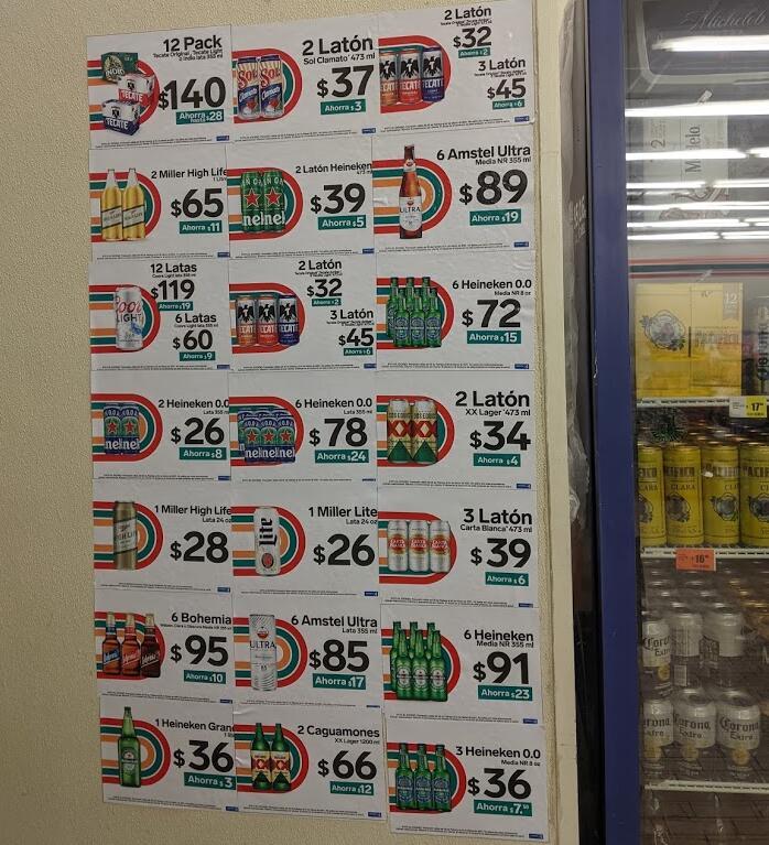 7 Eleven: ofertas en cervezas (3x2 en Cucapá y más)