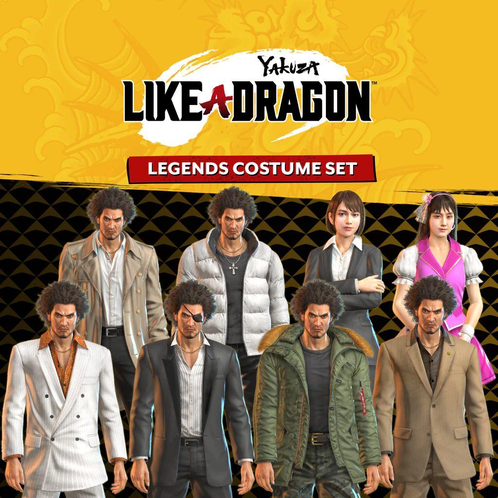 PSN: Yakuza: Like a Dragon Legends Costume Set (PS5)